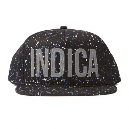 [DOPE] INDICA SPACED OUT SNAPBACK (BLACK)