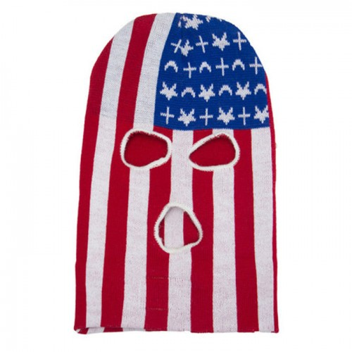 [BLACK SCALE] BS x FRESHIAM FACE MASK (RED/BLUE)