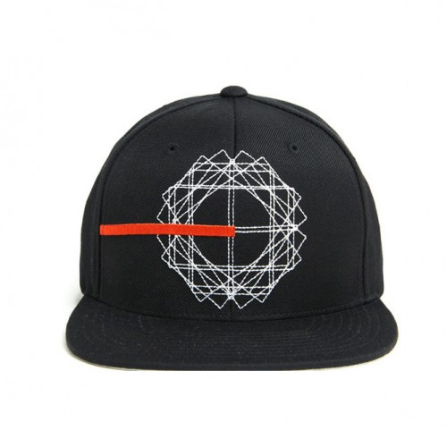[BLACK SCALE] CREATION SNAP BACK (BLACK)