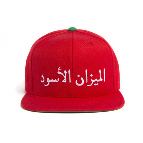 [BLACK SCALE] SCALE OF BLACK SNAP BACK (RED)