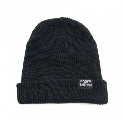[THRASHER] SAD GOAT BEANIE (BLACK)