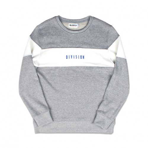 [MARCH WITH] DIVISION SWEATSHIRT (GREY)