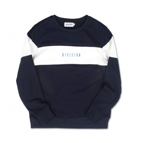 [MARCH WITH] DIVISION SWEATSHIRT (NAVY)