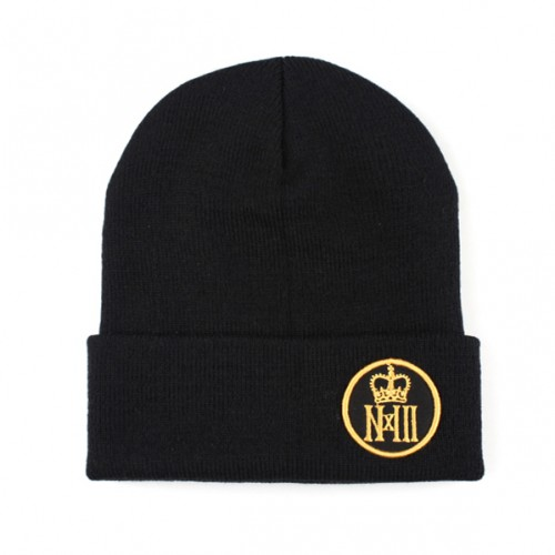 [NASTY PALM] NASTY ROYAL BEANIE (BLACK)