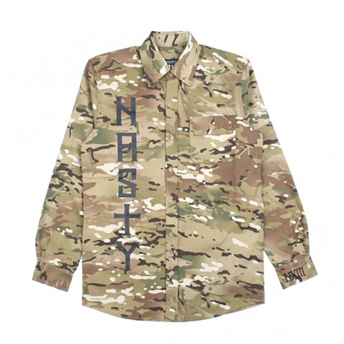 [NASTY PALM] N-CROSS SHIRTS (CAMO)