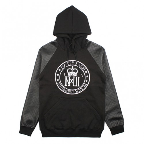 [NASTY PALM] NXM ROYAL RAGLAN HOODY (BLACK)