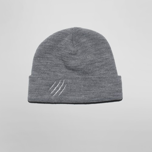 [SAFARY] SYMBOL SHORT BEANIE (GREY)