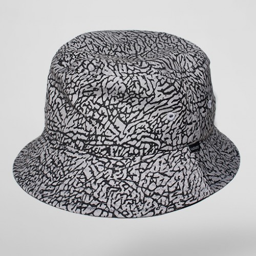 [SAFARY] ELEPHANT BUCKET HAT (GREY)