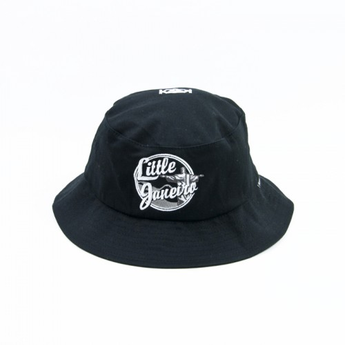 [$ SHOP SALE] [KANEZ] LITTLE JANEIRO BUCKET HAT (BLACK)