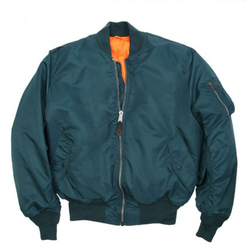 [ALPHA INDUSTRIES] MA-1 FLIGHT JACKET (NAVY)