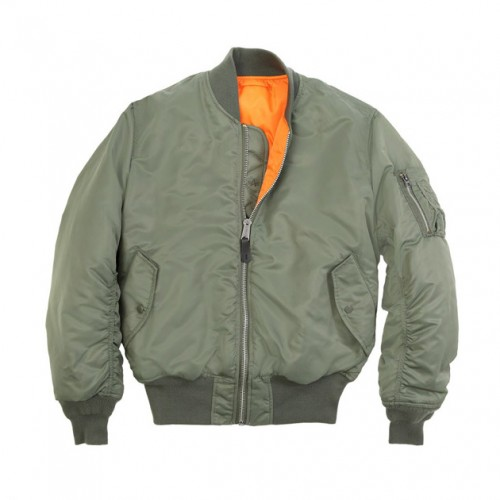 [ALPHA INDUSTRIES] MA-1 FLIGHT JACKET (SAGE)