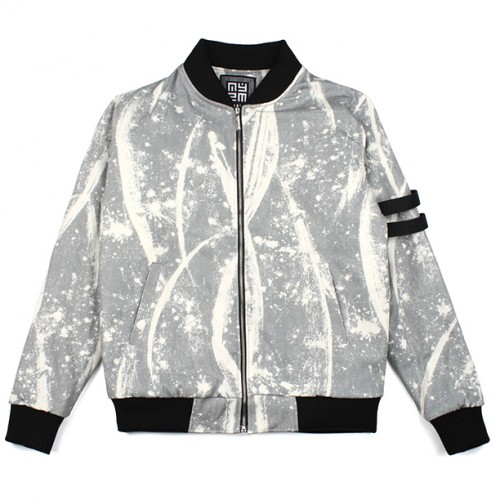 [NASTY PALM] N-SPLATTER BLOUSON (GREY)