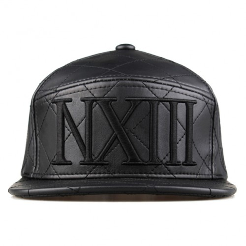 [NASTY PALM] NASTY ROYAL STRAPBACK (BLACK)