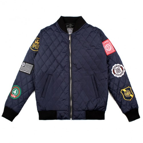 [NASTY PALM] UNION QUILTING JACKET (NAVY)