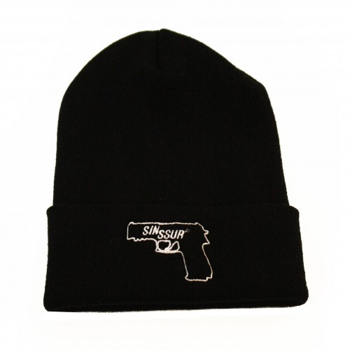 [SSUR] THE SIN SSUR BEANIE (BLACK)
