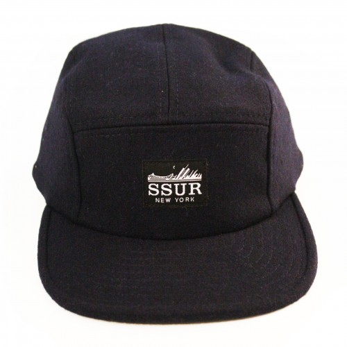 [SSUR] THE FAST LIFE CAMP SNAPBACK (NAVY)