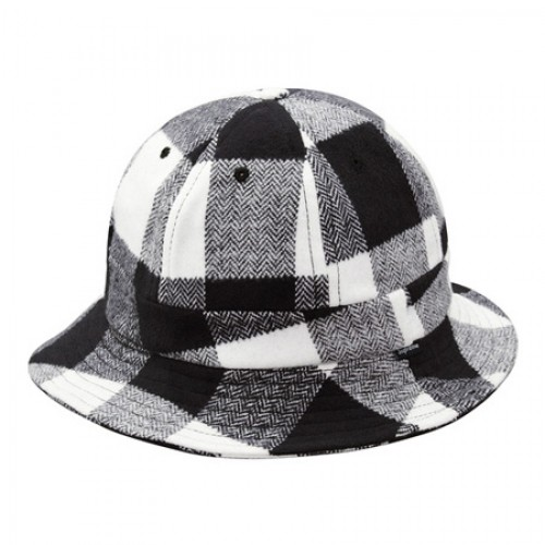 [SUPREME] BUFFALO CHECK BELL HAT (MULTI)