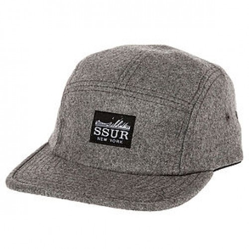 [SSUR] THE FAST LIFE CAMP SNAPBACK (HEATHER)