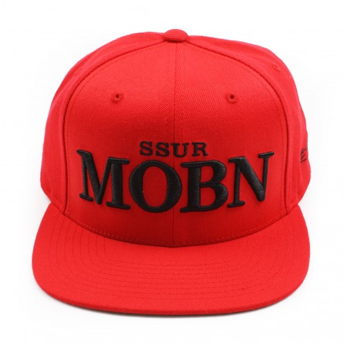 [SSUR] THE MOBN SNAPBACK (RED)