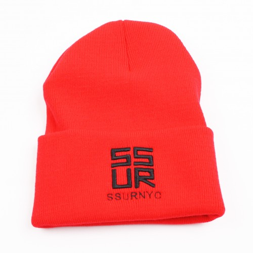 [SSUR] THE SSURVENCHY BEANIE (RED)