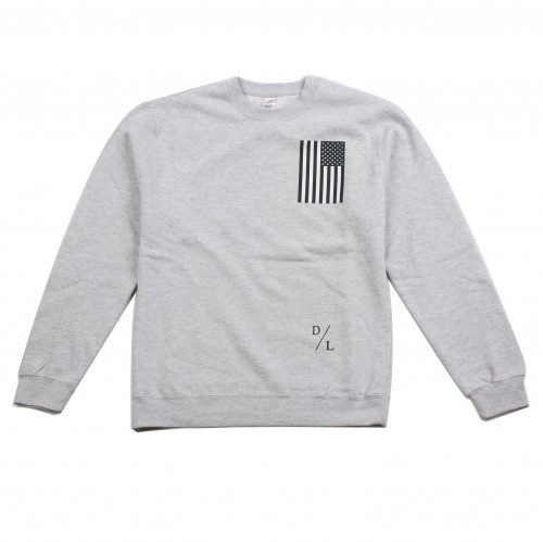 [DEAD LEGACY] The Black Flag Crewneck Sweatshirt (HEATHER GREY)