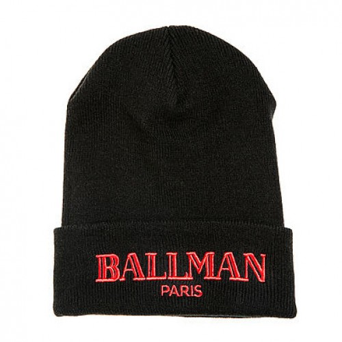[STREET VAULT] The Ball Man Beanie (BLACK)