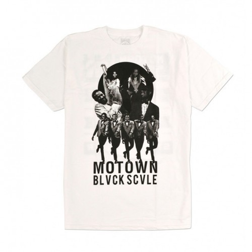 [BLACK SCALE] ONE NIGHT ONLY TEE (WHITE)