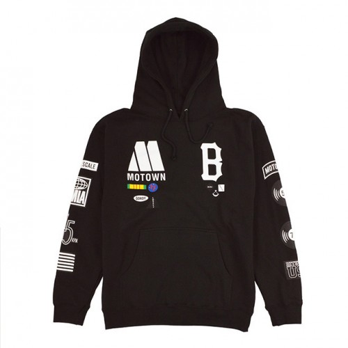 [BLACK SCALE] ALL AMERICAN PULL HOODIE (BLACK)