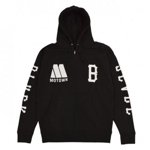 [BLACK SCALE] MOTOWN REBEL BLVCK ZIP (BLACK)
