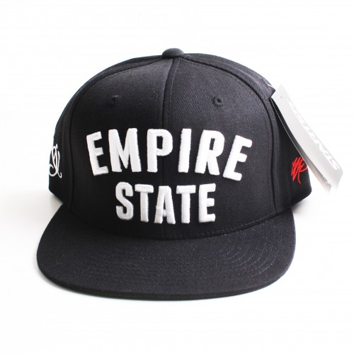 [SSUR] THE EMPIRE STATE SNAPBACK IN BLACK