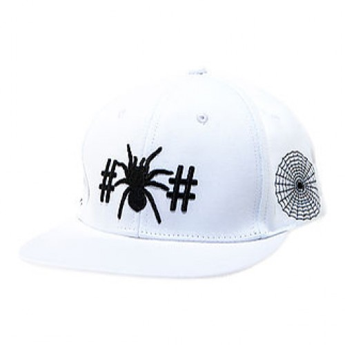 [BEEN TRILL] THE SPIDER SNAPBACK IN WHITE