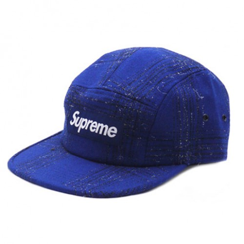 [SUPREME] BROKEN TWEED CAMP CAP