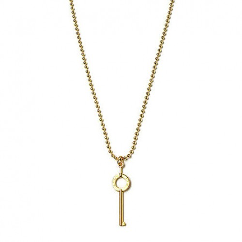 [SSUR] THE KEY NECKLACE IN GOLD