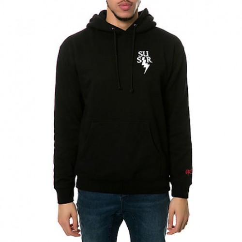 [SSUR] THE SSUR TCB HOODIE IN BLACK