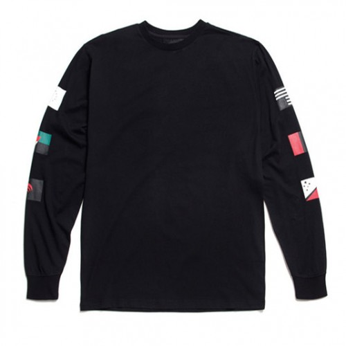 [BLACK SCALE] PANDEMIC L/S TEE, BLACK