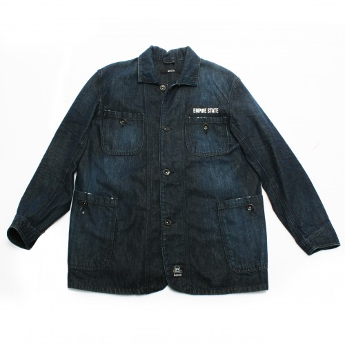 [SSUR] SSUR*PLUS- EMPIRE STATE DENIM JACKET