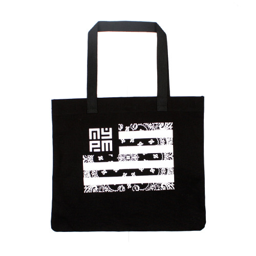 [NASTY PALM] NASTY NATION TOTEBAG (BLK)