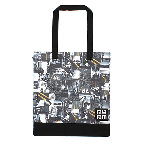 [NASTY PALM] N-ROAD TOTEBAG (BLK)