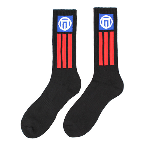 [NASTY PALM] N-FIGURE SOCKS (BLK)