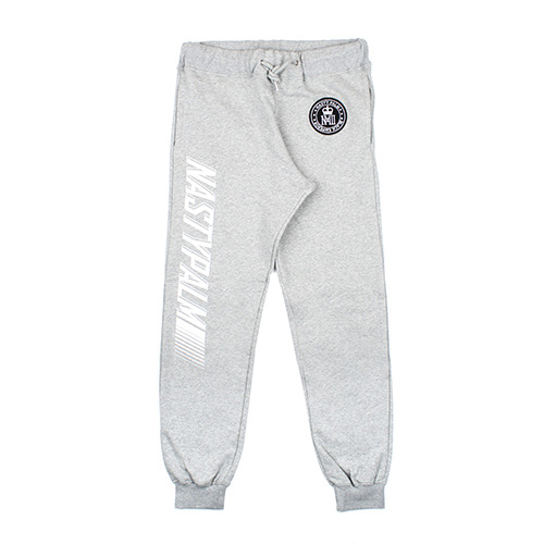 [NASTY PALM] WORLD WIDE SWEATPANTS (GRAY)