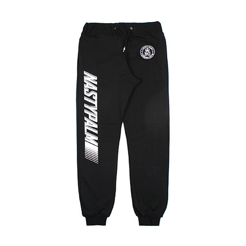 [NASTY PALM] NASWORLD WIDE SWEATPANTS (BLK)