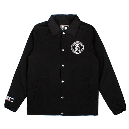 [NASTY PALM ]  N-CONQUEROR COACH JACKET (BLK)