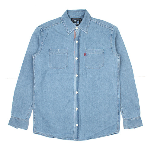 [NASTY PALM ] NASTY LINE DENIM SHIRTS (INDIGO WASH)