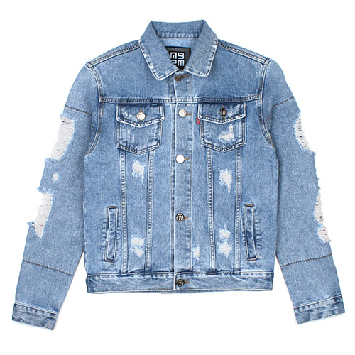 [NASTY PALM ] NXM DENIM JACKET (INDIGO WASH)