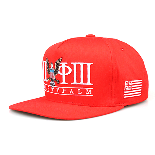[NASTY PALM ] N-CONQUEROR SNAPBACK (RED)