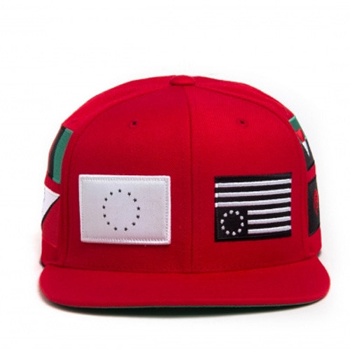 [BLACK SCALE] PANDEMIC SNAPBACK, RED