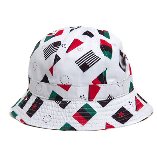 [BLACK SCALE] PANDEMIC BUCKET (WHITE)