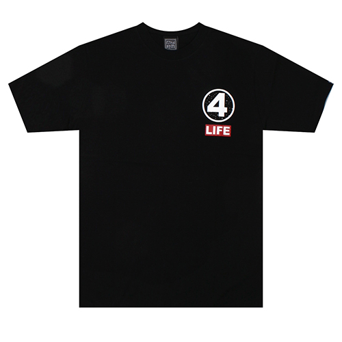 [NASTY PALM] 4LIFE TEE (BLK)