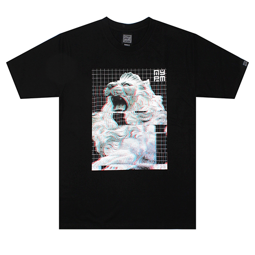 [NASTY PALM] AURA MIRAGE TEE (BLK)