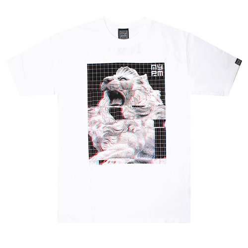 [NASTY PALM] AURA MIRAGE TEE (WHT)